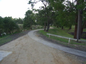 Mathison Park Churchill, upgraded pathway